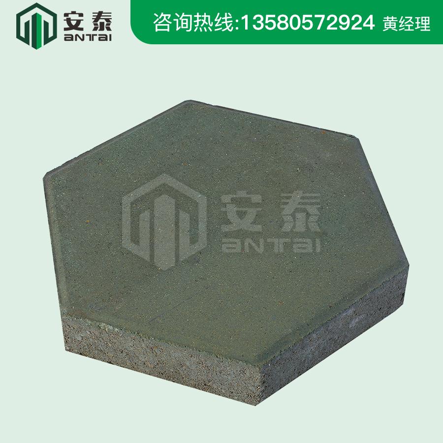六角形環保彩磚