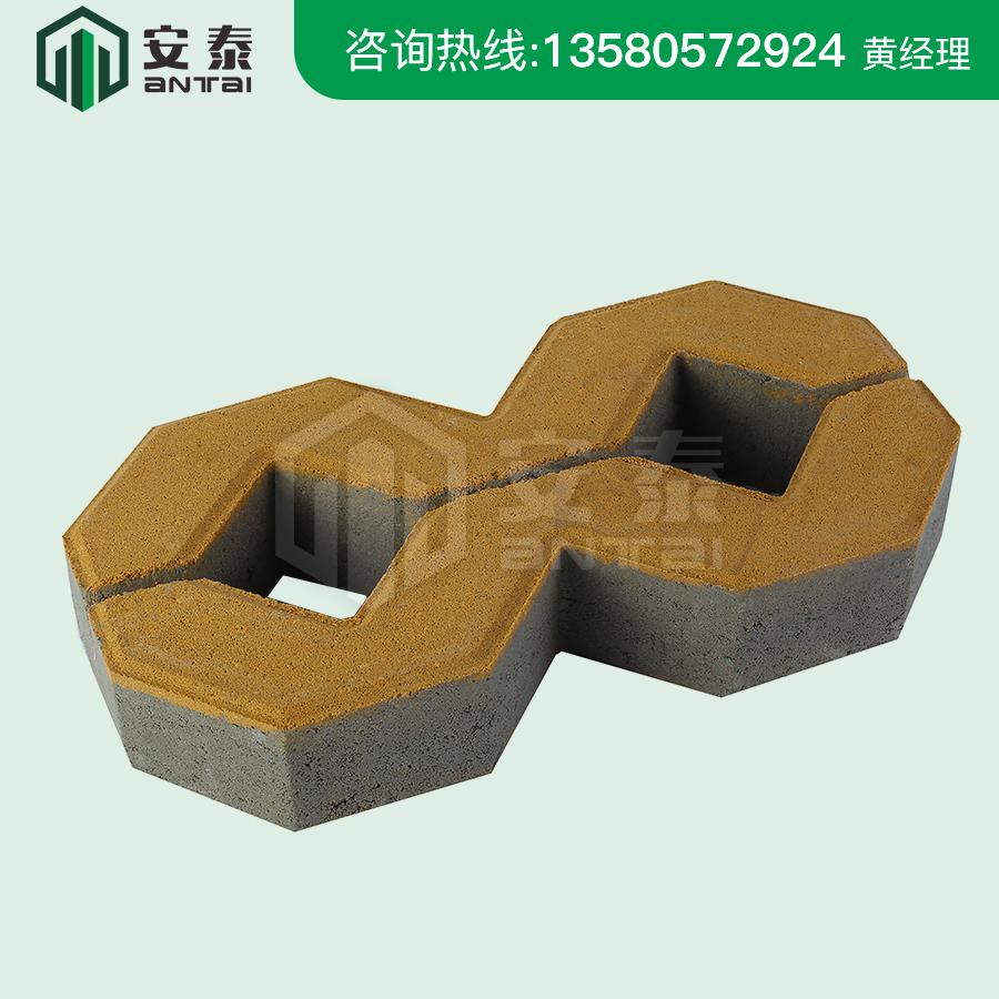 8字型植草磚