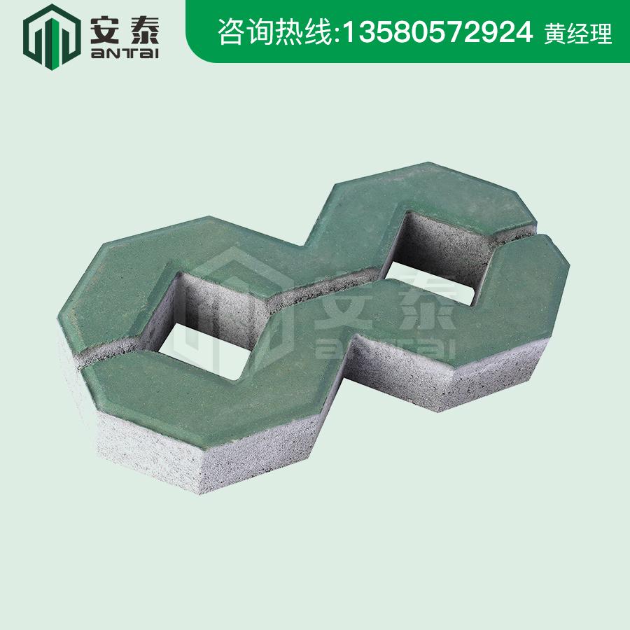 綠色8字磚400×200×80mm